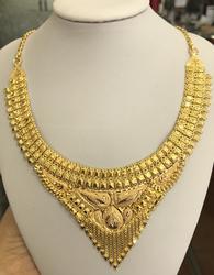 Epic 22kt Solid Gold Necklace