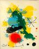 JOAN MIRO ORIGINAL LITHOGRAPH FRONTISPIECE, 1964