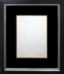 PABLO PICASSO 1956 HAND SIGNED ETCHING