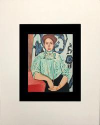 1955 HENRI MATISSE  MADAME GRETA MOLL. PARIS, PORTRAITS