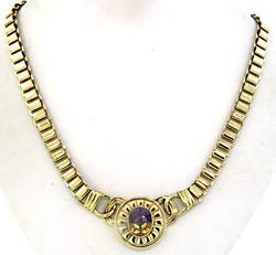 Absolutely AmazIng Necklace with Amethyst & Citrine