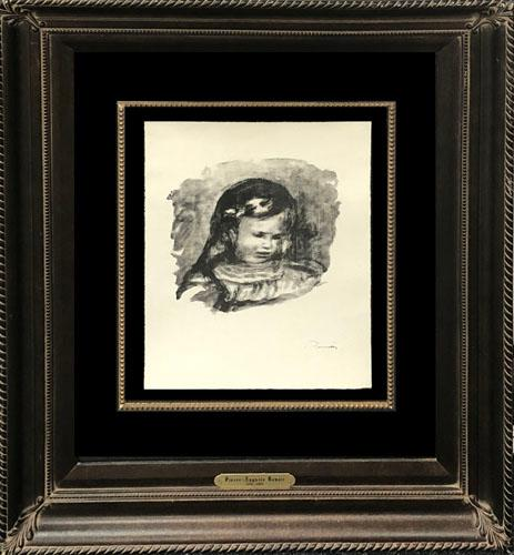 EXCEPTIONAL RENOIR ORIGINAL LITHOGRAPH FROM 1904