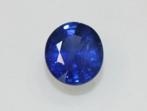Natural Royal Blue Sapphire - 0.71 ct.