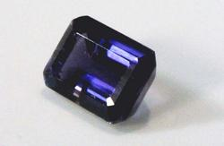 Exceptional Natural Iolite Octagon