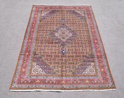 Semi Antique Persian Tabriz Mahi (Fish) Design 9.8x6.6