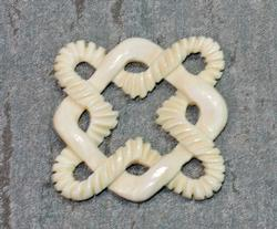 Hand-carved Ivory Pendant