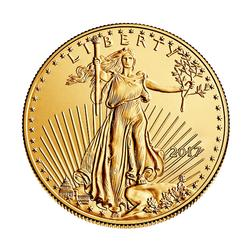 2017 American Gold Eagle 1 oz Uncirculated