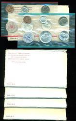 4 Choice 1964 Silver Mint Sets in original envelopes