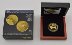 2010 Israel Tower of David 20 New Sheqalim Gold Coin w/ COA & Box