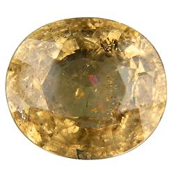 Very rare 5.32ct copper bearing champagne Tourmaline