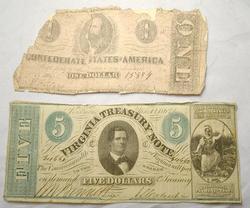 $5 Virginia Treasury Note Plus