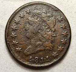 1811 Classic Head Large Cent