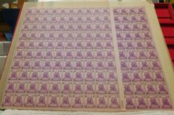 1938 Commemorative stamps sheets  $9.00 face