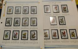 State Birds and Flowers stamps  $10.00 face value