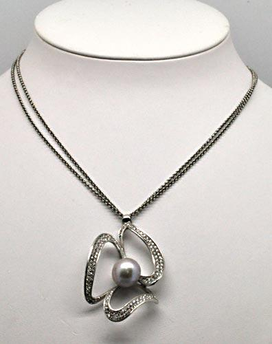 2.50ctw Diamond Necklace in 18kt Gold