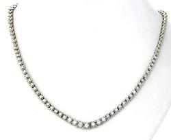 Very Tempting! 3.0 CTW Diamond Tennis Necklace