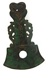 Jade carved Nephrite pendant