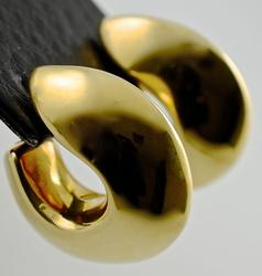 High End High Polish 18K Earrings