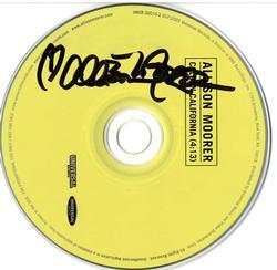 Allison Moorer Signed Cold In Cali CD