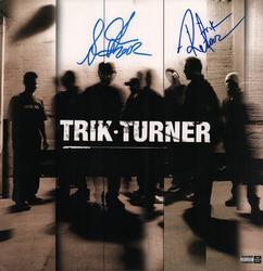 Trik Turner Signed x2 Album Lp Flat