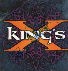 Kings Autographed x3 Signed Album Flat