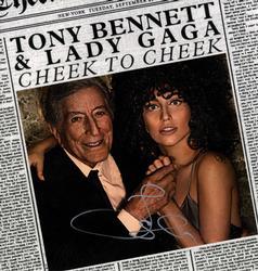 Lady Gaga Signed 11x14 Gaga Bennett Album Cover
