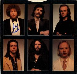 Richard Williams Autographed Kansas Album Sleeve Insert
