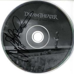 Dream Theater X2 Signed Black Clouds & Silver Linings CD