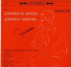 Johnny Mathis Signed Johnnys Mood Album Lp