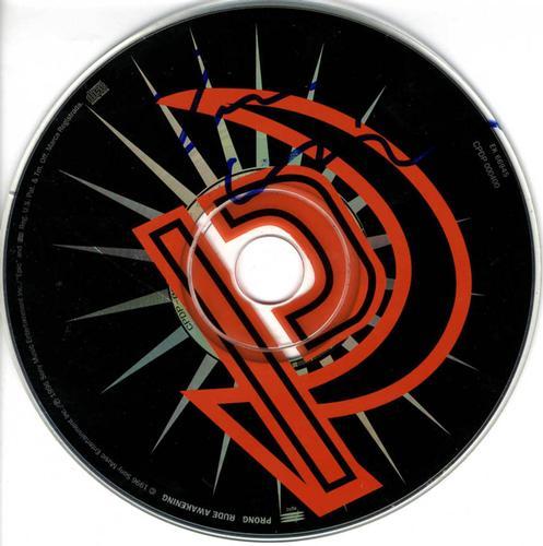 Prong Band Signed CD