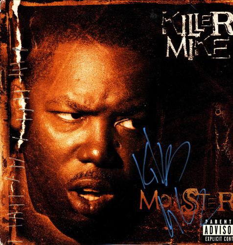 Killer Mike Signed Autographed Monster Album Cover