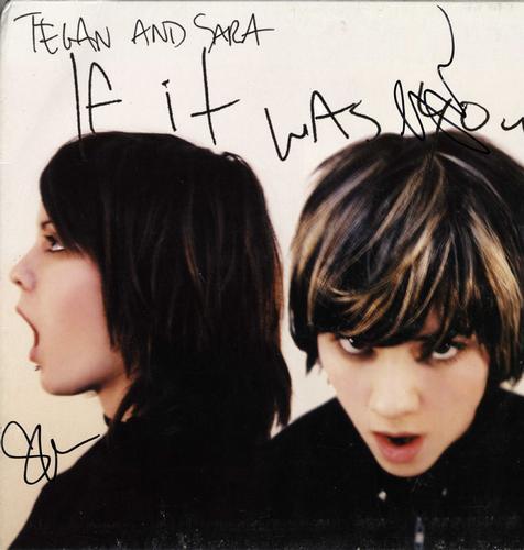 Tegan And Sara Signed Album Lp Cover