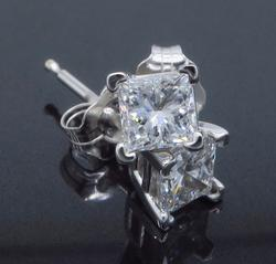 .52CTW Diamond Solitaire Earrings