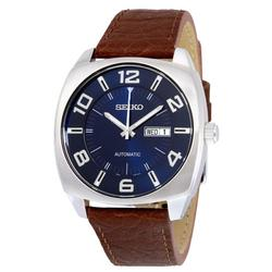 New Mens Blue Dial Seiko Automatic Day/Date