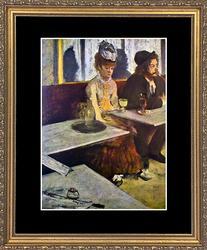 Toulouse Lautrec 'L'Absinthe' Circa 1960