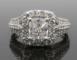 1.40CTW Diamond Engagement Ring