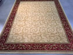 Decorative French Solid Design Area Rug 8X10