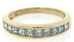 Cherished Channel Set Diamond Band