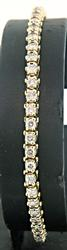 3 CTW Diamond Tennis Bracelet in Yellow Gold