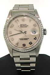 Rolex Datejust Oyster Perpetual, Box & Papers