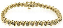 Fabulous Diamond Tennis Bracelet