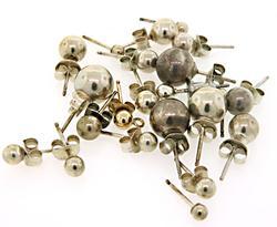 Lot of sterling silver earrings