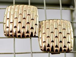 Bold 14K Earrings
