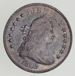 1805 Draped Bust Quarter - Circulated