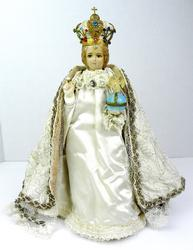 Early Infant of Prague with Crown
