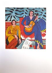 Highly Collectible Vintage Henri Matisse Color Pochoir
