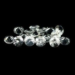 Dazzling 5.69ct diamond cut Zircon parcel