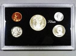 Exceptional BU 1935 Philadelphia Minted Five Coin Set!