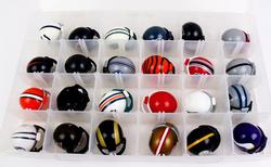 24 NFL Mini Helmet Collection