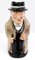 Royal Doulton Winston Churchill Figure